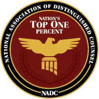 top one percent of attorneys logo