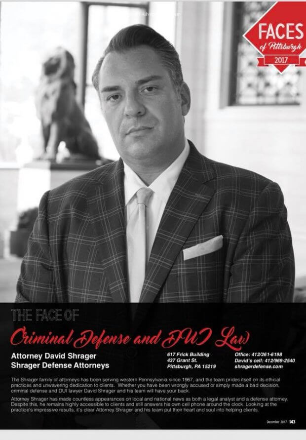 pittsburgh magazine face of the year criminal defense attorney